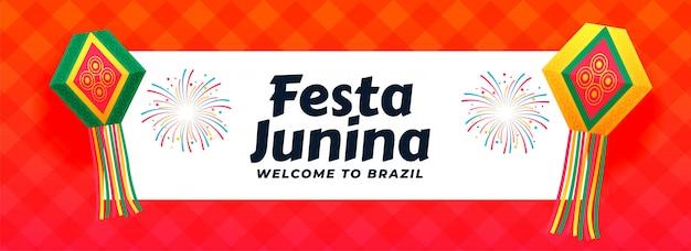 Latynoamerykański projekt wydarzenia festa junina