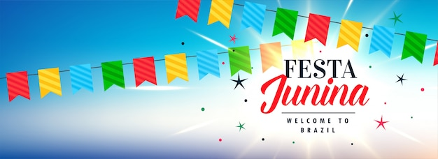 Latynoskie święto festa junina banner