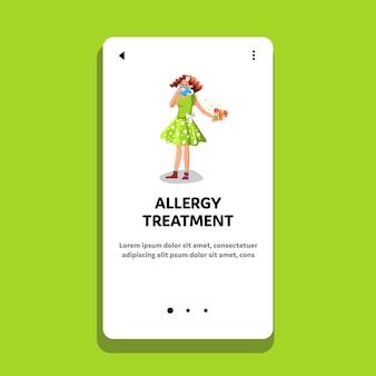 Leczenie alergii i opieka zdrowotna kobiety