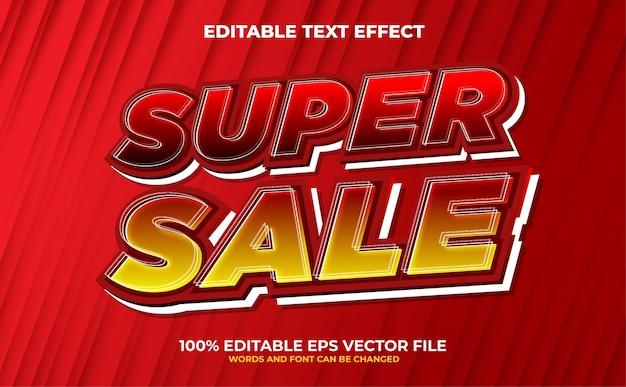 Legenda edytowalny efekt tekstowy premium wektor