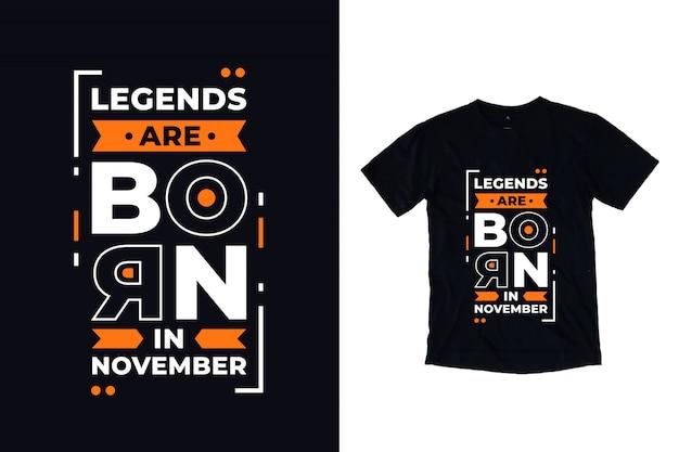 Legendy rodzą się w listopadowych cytatach współczesnej typografii