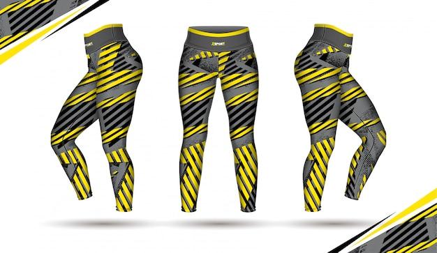 Legginsy spodnie trening mody