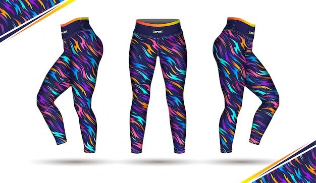 Legginsy spodnie treningowe