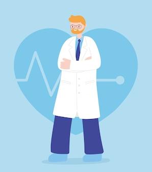 Lekarze i pielęgniarki, profesjonalny personel medyczny o charakterze medycznym
