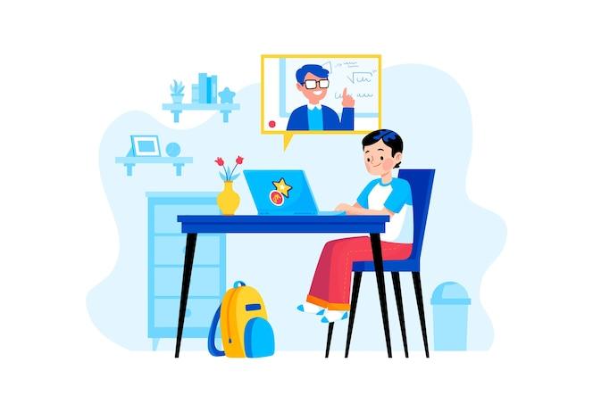 Lekcje online dla dzieci