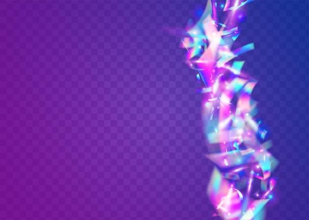 Lekka tekstura. różowy efekt rozmycia. kryształowy blichtr. błyszczący kolorowy szablon. folia brokatowa. sztuka fiesty. element imprezy. tło holograficzne. fioletowa lekka tekstura