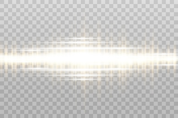Lekki efekt specjalny. świetliste pasy w ramce.