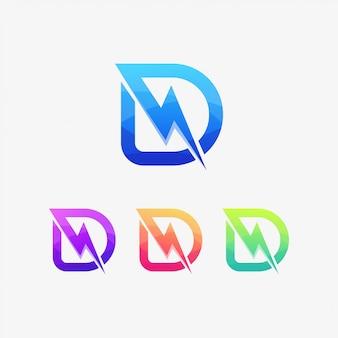 Lekkie logo d napędza energię