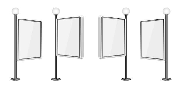 Lekkiego pudełka szablonu ilustracja na białym tle