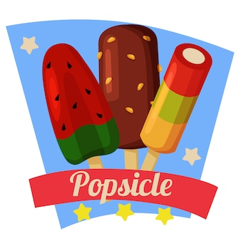 Letni arbuz popsicle