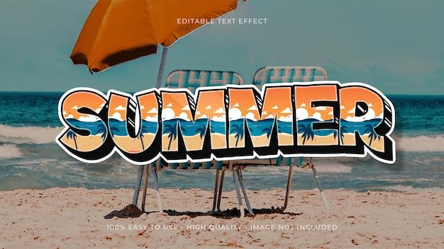 Letni efekt edycji tekstu