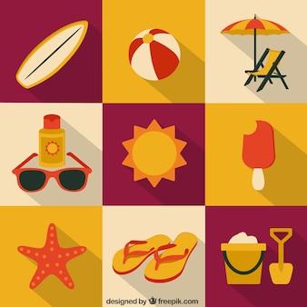 Letnia kolekcja ikon