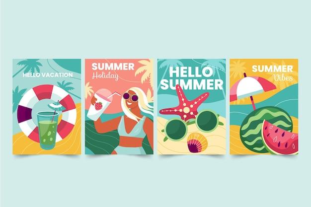 Letnia kolekcja kart