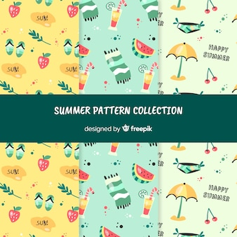 Letnia kolekcja wzorów
