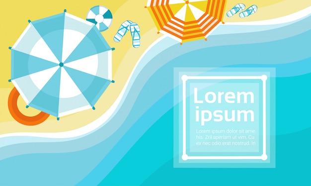 Letnia plaża wakacje zestaw piasek tropikalny transparent wakacje