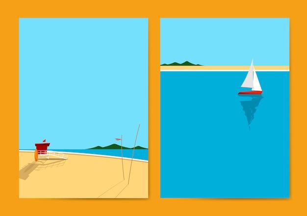 Letnia plaża