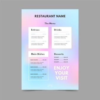 Letnia wyprzedaż menu