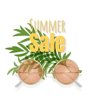 Letnia wyprzedaż z okularami przeciwsłonecznymi