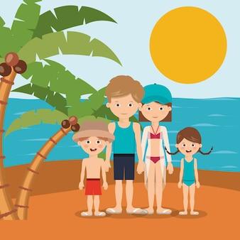 Letnie wakacje w projektowaniu rodziny