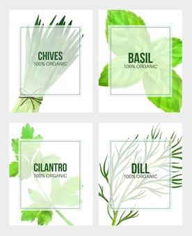 Letnie warzywa transparent ręcznie rysowane akwarela ilustracja