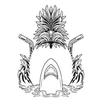 Letnie wibracje tshirt projekt ilustracji wektorowych
