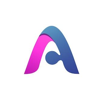 Letter a logo vector