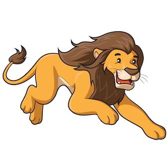 Lew kreskówka
