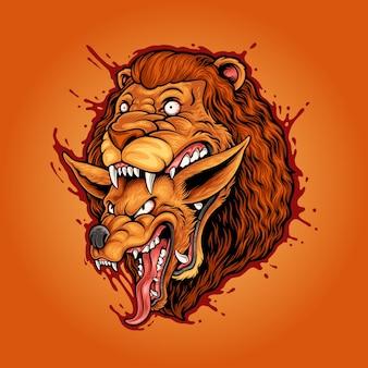 Lew łańcuch pokarmowy