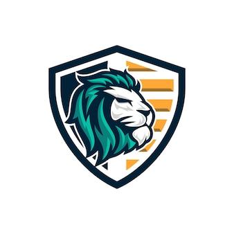 Lew logo wektor