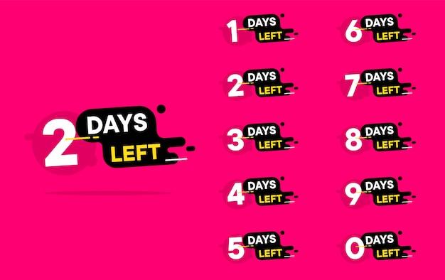 Liczba dni pozostała do odliczenia
