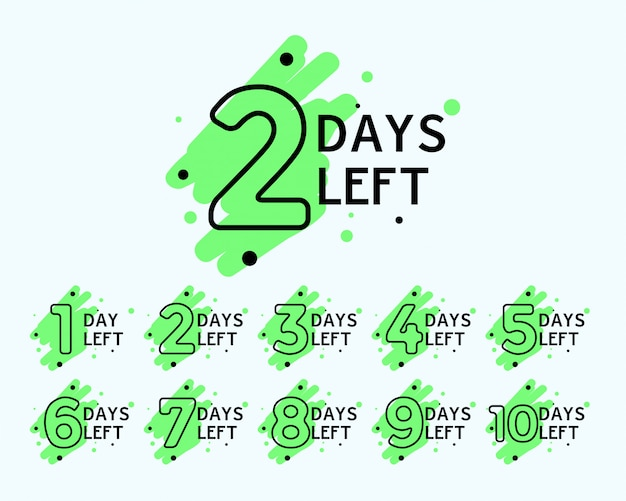 Liczba dni pozostawionych tagów
