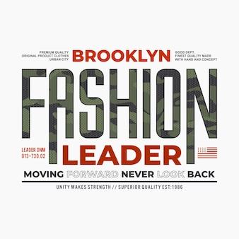 Lider mody na brooklynie