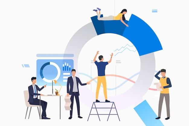 Lider zespołu zarządzający projektem