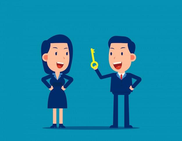 Liderzy rozmawiają wskazówki dla pracownika