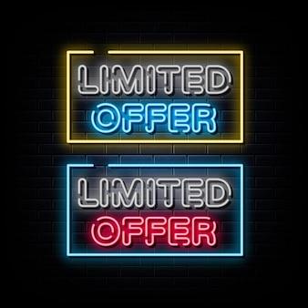 Limitowana oferta neonów