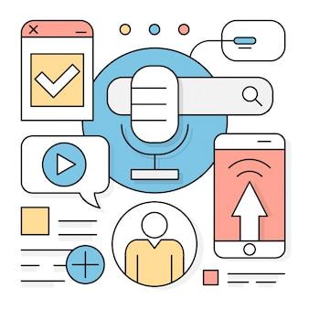 Linear web search online edukacja