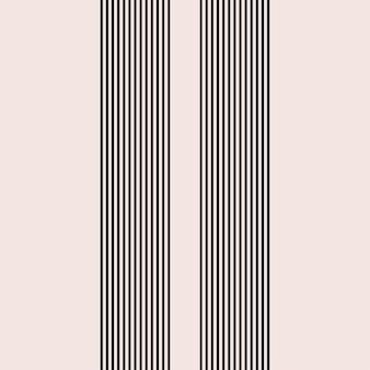 Linia pasek wstążki boho minimalistyczny kształt ikona plakat szablon.