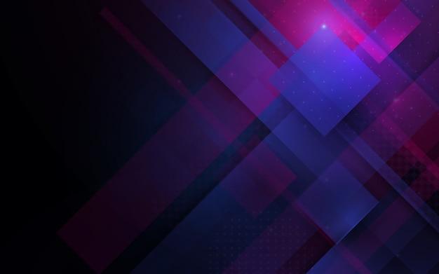 Linie abstrakcyjna technologii technologicznie futurystyczne tło innowacji cyfrowych