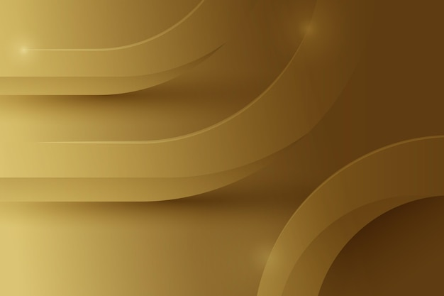 Linie z błyszczącym złotym luksusowym tłem