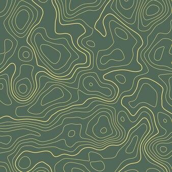 Linii topograficznej mapy tła elewacji