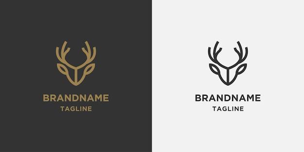 Liniowe logo jelenia