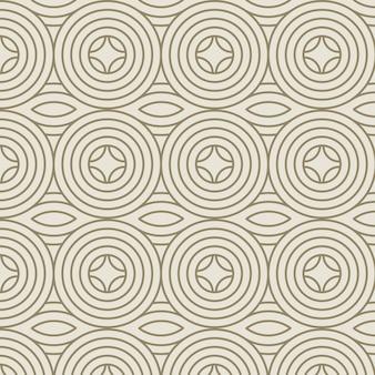 Liniowy płaski wzór abstrakcyjne linie