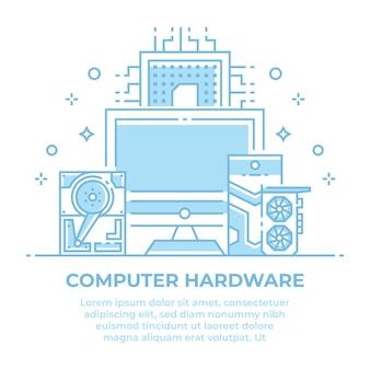 Liniowy projekt sprzętu komputerowego