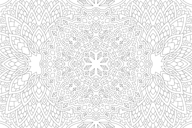 Liniowy wzór z kryształkami