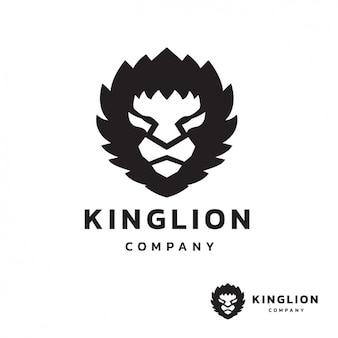 Lion szablon logo