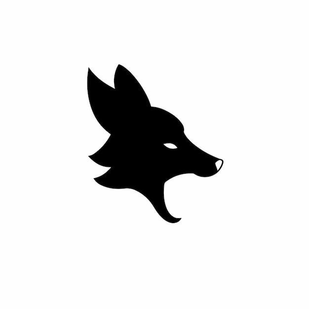 Lis symbol logo ilustracja wektorowa