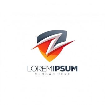 Liść logo projekt ilustracji wektorowych