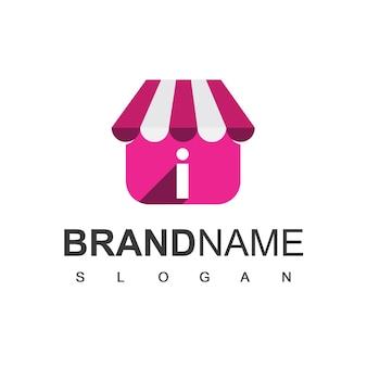 List i sklep szablon projektu logo, sklep internetowy symbol.