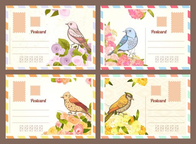 List miłosny z ptakiem.