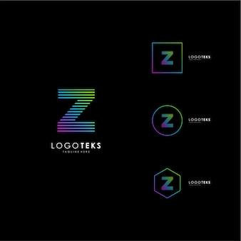 List z logo ikona elementy szablonu projektu